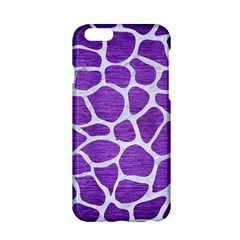 Skin1 White Marble & Purple Brushed Metal (r) Apple Iphone 6/6s Hardshell Case by trendistuff