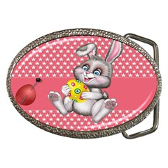Illustration Rabbit Easter Belt Buckles by Sapixe