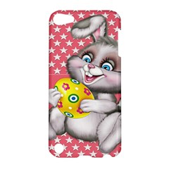 Illustration Rabbit Easter Apple Ipod Touch 5 Hardshell Case by Sapixe