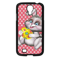 Illustration Rabbit Easter Samsung Galaxy S4 I9500/ I9505 Case (black) by Sapixe