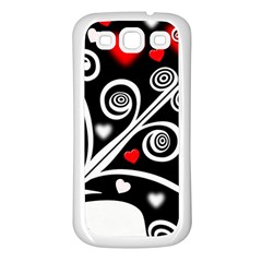 Ornament Background Samsung Galaxy S3 Back Case (white)