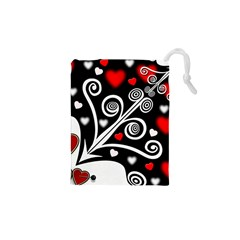 Ornament Background Drawstring Pouches (xs)  by Sapixe