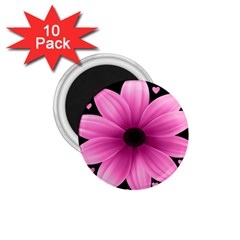 Flower Plant Floral Petal Nature 1 75  Magnets (10 Pack)  by Sapixe
