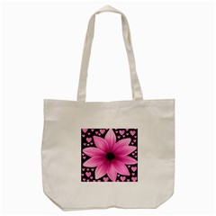 Flower Plant Floral Petal Nature Tote Bag (cream) by Sapixe
