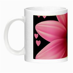 Flower Plant Floral Petal Nature Night Luminous Mugs by Sapixe
