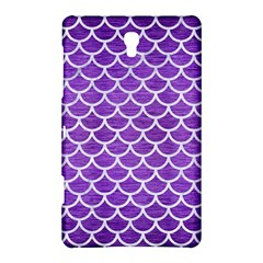 Scales1 White Marble & Purple Brushed Metal Samsung Galaxy Tab S (8 4 ) Hardshell Case  by trendistuff