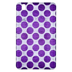 Circles2 White Marble & Purple Brushed Metal (r) Samsung Galaxy Tab Pro 8 4 Hardshell Case by trendistuff