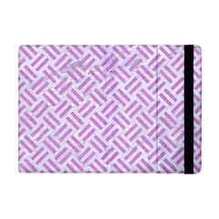 Woven2 White Marble & Purple Colored Pencil (r) Apple Ipad Mini Flip Case by trendistuff