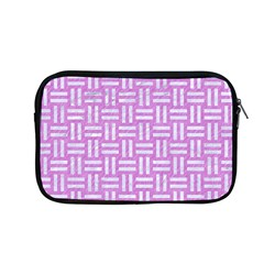Woven1 White Marble & Purple Colored Pencil Apple Macbook Pro 13  Zipper Case by trendistuff
