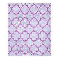 Tile1 White Marble & Purple Colored Pencil (r) Shower Curtain 60  X 72  (medium)  by trendistuff