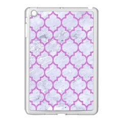 Tile1 White Marble & Purple Colored Pencil (r) Apple Ipad Mini Case (white) by trendistuff