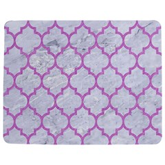 Tile1 White Marble & Purple Colored Pencil (r) Jigsaw Puzzle Photo Stand (rectangular) by trendistuff