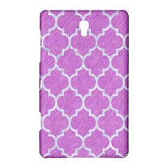 Tile1 White Marble & Purple Colored Pencil Samsung Galaxy Tab S (8 4 ) Hardshell Case  by trendistuff