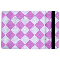 Square2 White Marble & Purple Colored Pencil Ipad Air 2 Flip by trendistuff