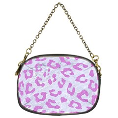 Skin5 White Marble & Purple Colored Pencil Chain Purses (one Side)  by trendistuff