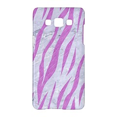 Skin3 White Marble & Purple Colored Pencil (r) Samsung Galaxy A5 Hardshell Case  by trendistuff