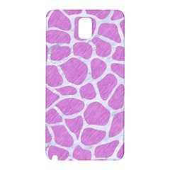 Skin1 White Marble & Purple Colored Pencil (r) Samsung Galaxy Note 3 N9005 Hardshell Back Case by trendistuff