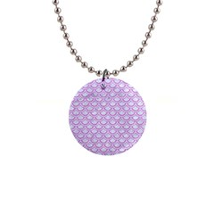 Scales2 White Marble & Purple Colored Pencil (r) Button Necklaces by trendistuff