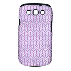 Hexagon1 White Marble & Purple Colored Pencil (r) Samsung Galaxy S Iii Classic Hardshell Case (pc+silicone) by trendistuff
