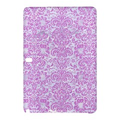 Damask2 White Marble & Purple Colored Pencil (r) Samsung Galaxy Tab Pro 10 1 Hardshell Case by trendistuff