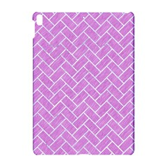 Brick2 White Marble & Purple Colored Pencil Apple Ipad Pro 10 5   Hardshell Case