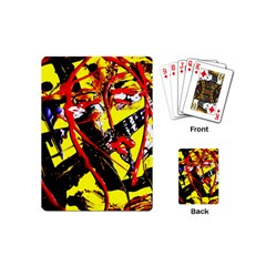 Cry About My Haircut 8 Playing Cards (mini)  by bestdesignintheworld