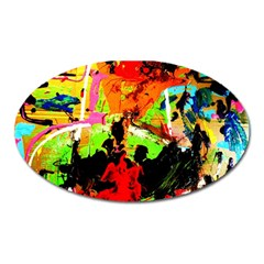Enterprenuerial 1 Oval Magnet by bestdesignintheworld