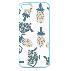 Pineapples Apple Seamless Iphone 5 Case (color) by luizavictorya72