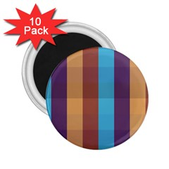 Background Desktop Squares 2 25  Magnets (10 Pack)