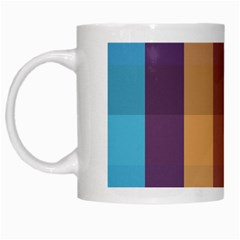 Background Desktop Squares White Mugs