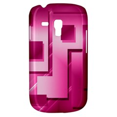 Pink Figures Rectangles Squares Mirror Galaxy S3 Mini by Sapixe