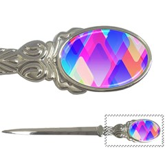 Squares Color Squares Background Letter Openers