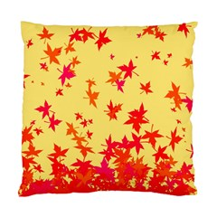 Leaves Autumn Maple Drop Listopad Standard Cushion Case (one Side) by Sapixe