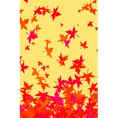 Leaves Autumn Maple Drop Listopad 5 5  X 8 5  Notebooks by Sapixe