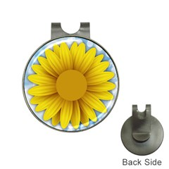 Plant Flower Flowers Bokeh Sky Hat Clips With Golf Markers by Sapixe