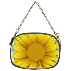 Plant Flower Flowers Bokeh Sky Chain Purses (one Side)  by Sapixe
