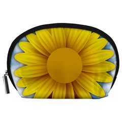 Plant Flower Flowers Bokeh Sky Accessory Pouches (large)