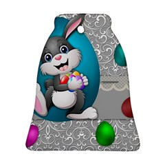Illustration Celebration Easter Bell Ornament (two Sides)