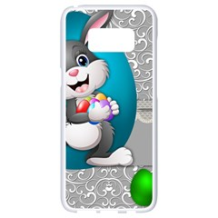 Illustration Celebration Easter Samsung Galaxy S8 White Seamless Case