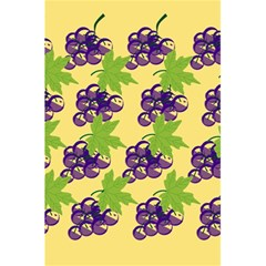 Grapes Background Sheet Leaves 5 5  X 8 5  Notebooks by Sapixe