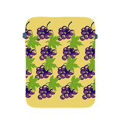 Grapes Background Sheet Leaves Apple Ipad 2/3/4 Protective Soft Cases by Sapixe