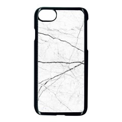 White Background Pattern Tile Apple Iphone 7 Seamless Case (black) by Sapixe