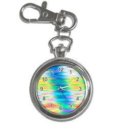 Wave Rainbow Bright Texture Key Chain Watches