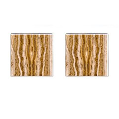 Marble Wall Surface Pattern Cufflinks (square) by Sapixe
