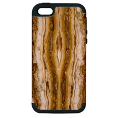 Marble Wall Surface Pattern Apple Iphone 5 Hardshell Case (pc+silicone)