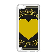 Background Heart Romantic Love Apple Ipod Touch 5 Case (white)