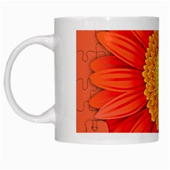 Flower Plant Petal Summer Color White Mugs