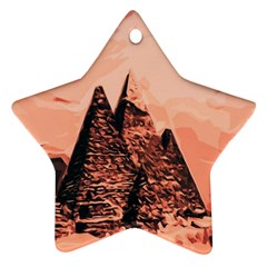 Pyramid Egypt Monumental Ornament (star) by Sapixe