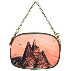 Pyramid Egypt Monumental Chain Purses (one Side)