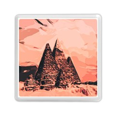 Pyramid Egypt Monumental Memory Card Reader (square)  by Sapixe